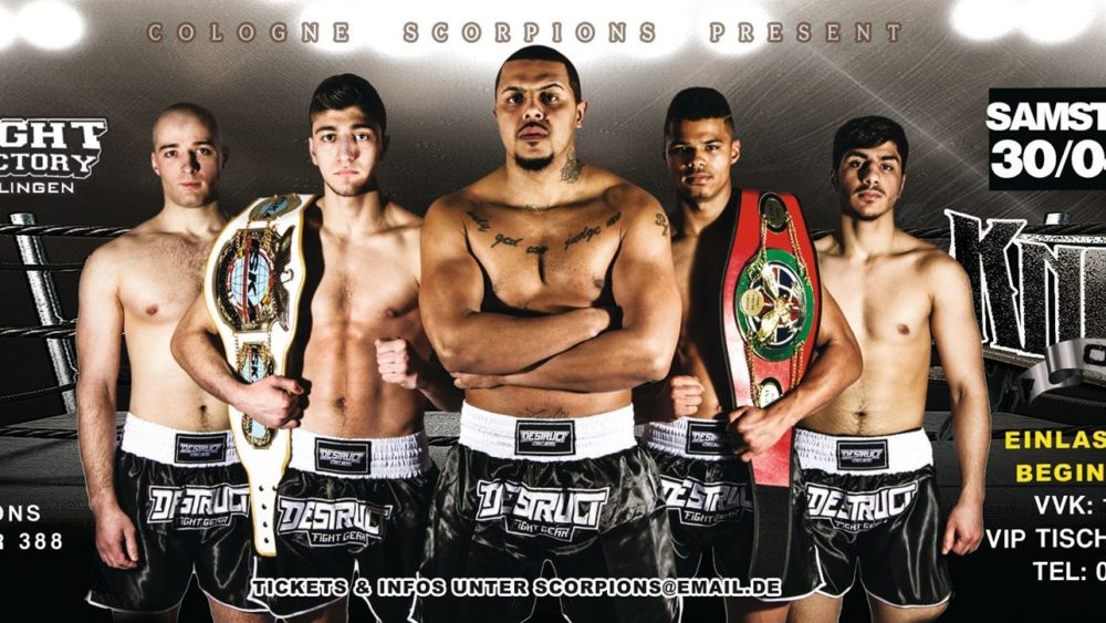 Sportschule Jung Wuppertal - Knock Out Fight Night 2016