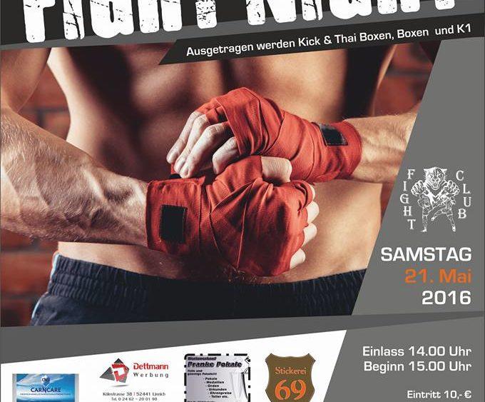 Sportschule Jung Wuppertal - Jülicher Newcomer Fight Night 2016