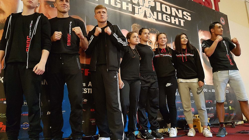 Sportschule Jung Wuppertal - Champions Fight Night X