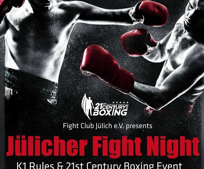 Sportschule Jung Wuppertal - Jülicher Fight Night 2016