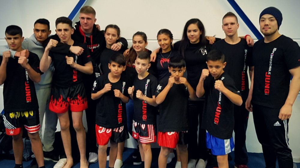 Sportschule Jung Wuppertal - Kinder Kickboxen, Muay Thai, Boxen