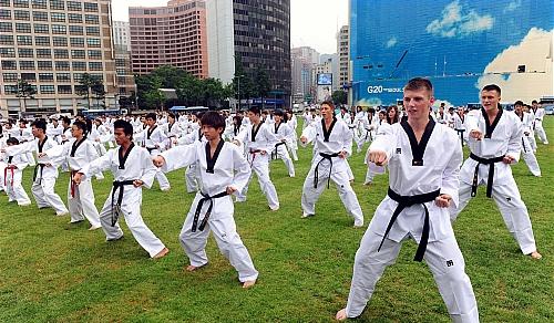 Sportschule Jung Wuppertal - Was ist Taekwondo?
