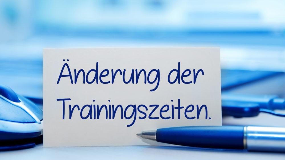 Sportschule Jung Wuppertal - Trainingszeiten 2017