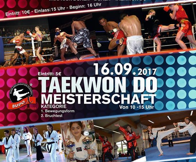 Sportschule Jung Wuppertal - Budox Fight Night 2017